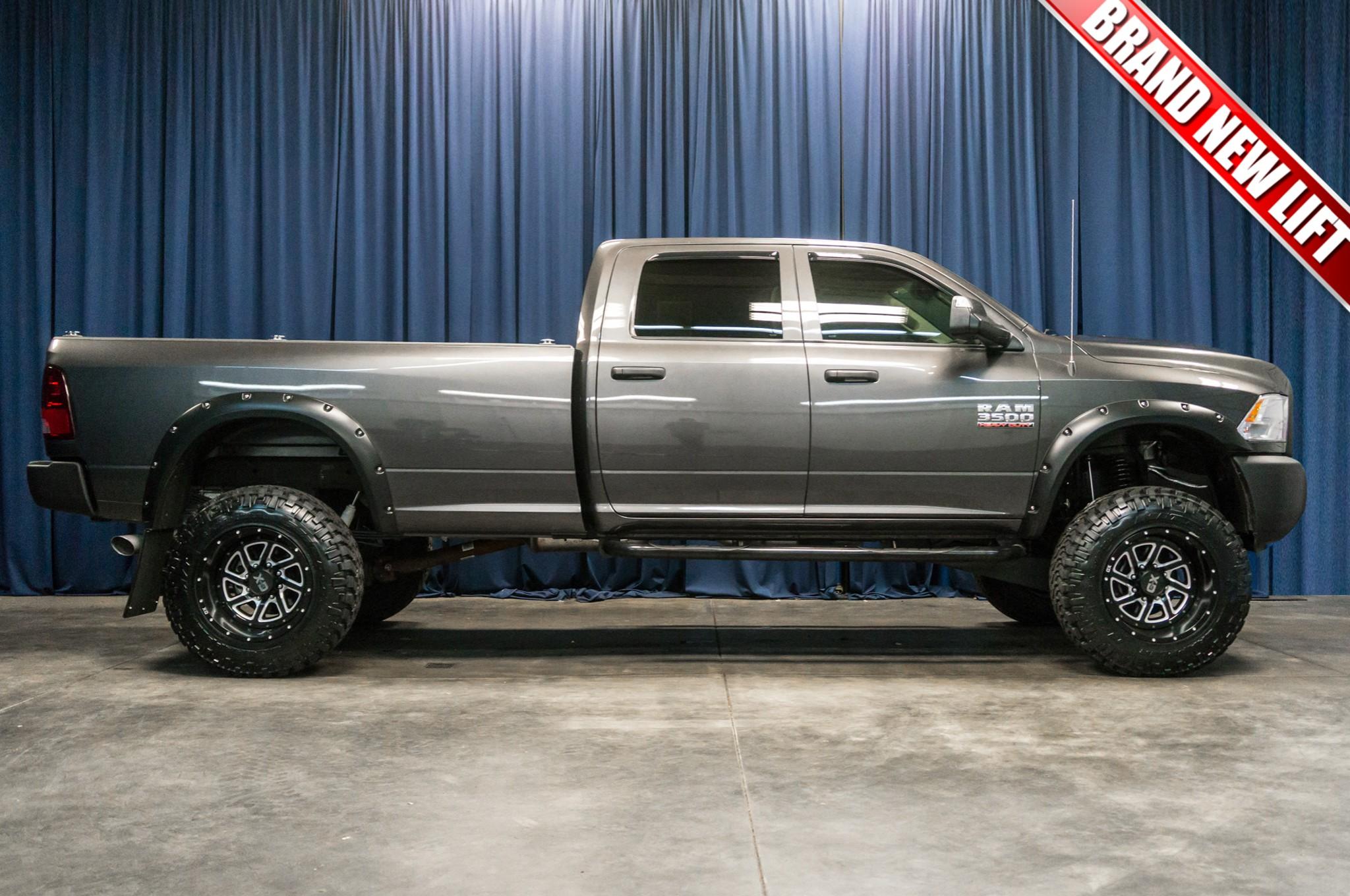 used lifted 2014 dodge ram 3500 4x4 diesel truck for sale 41100. Black Bedroom Furniture Sets. Home Design Ideas