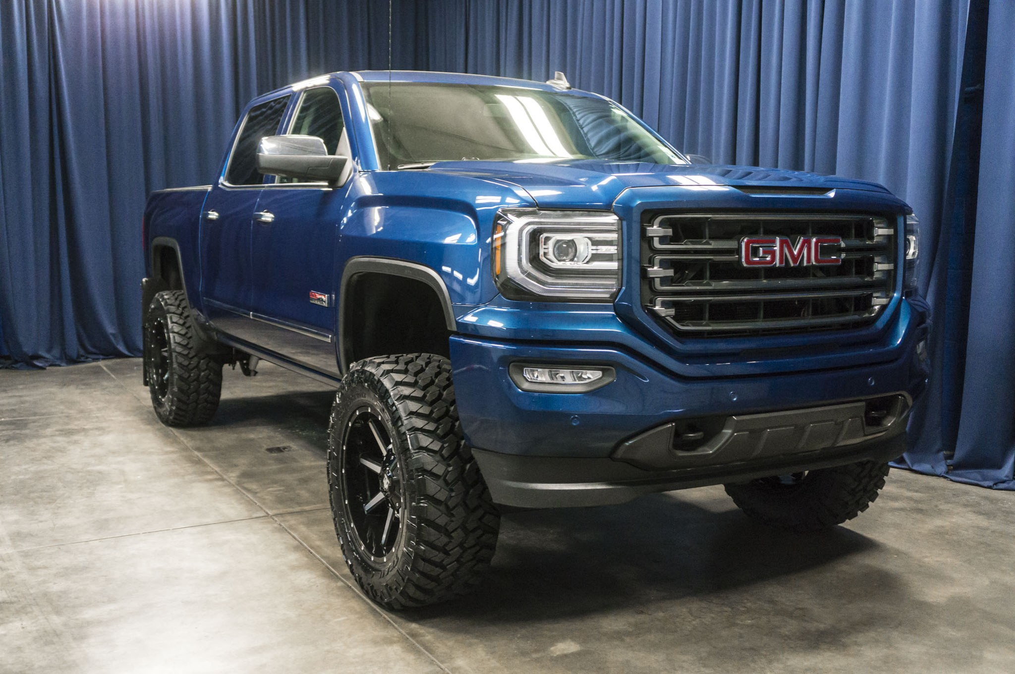 used lifted 2016 gmc sierra 1500 all terrain 4x4 truck for sale 41628. Black Bedroom Furniture Sets. Home Design Ideas