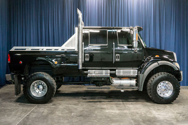 Used Lifted 2005 International 7400 CXT 4x4 Diesel Truck For
