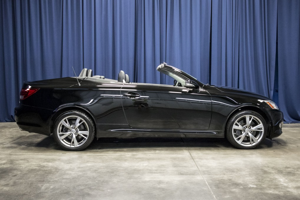 used 2010 lexus is350 c rwd convertible for sale northwest motorsport. Black Bedroom Furniture Sets. Home Design Ideas