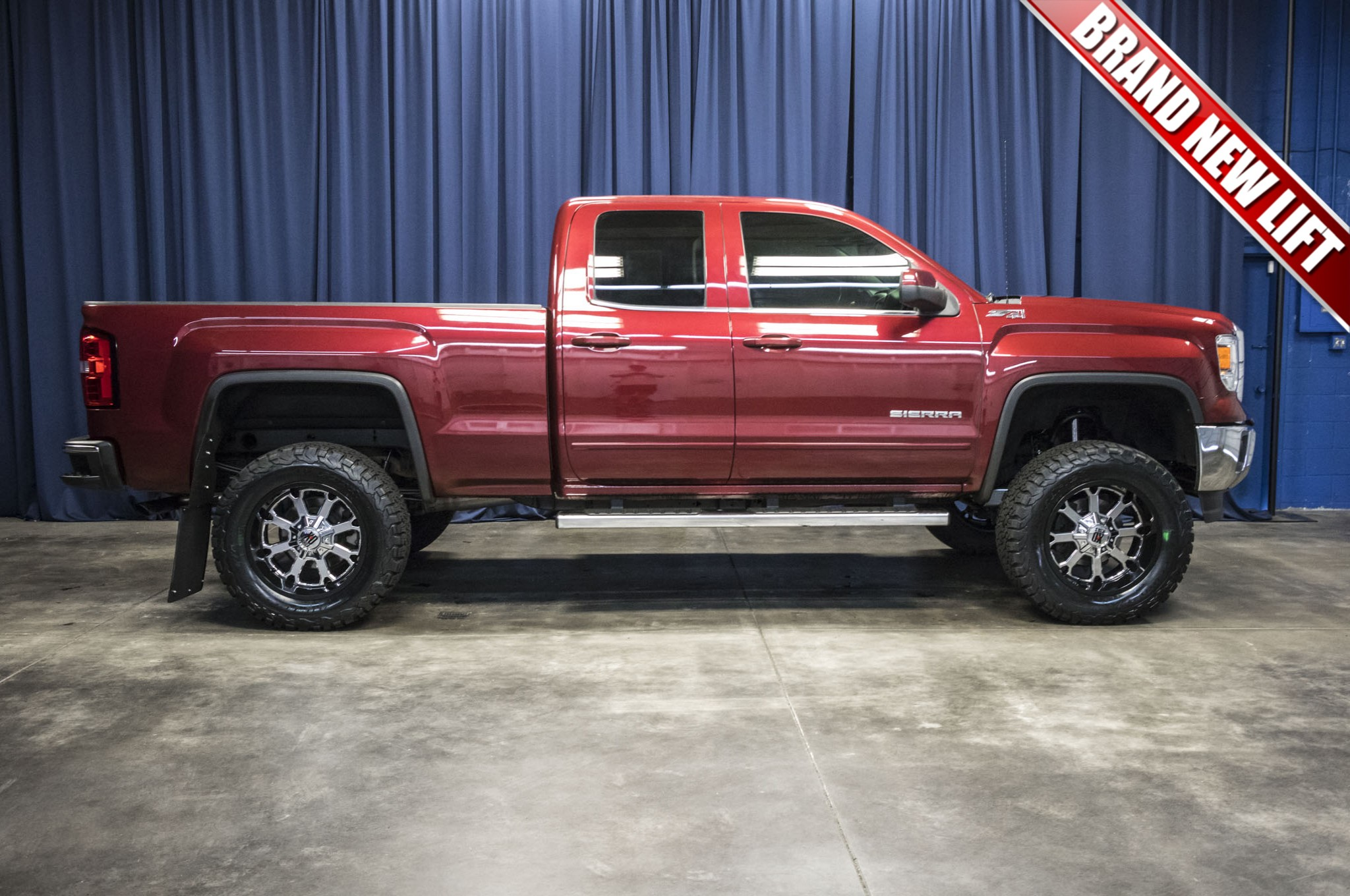 Used Lifted 2014 GMC Sierra 1500 SLE Z71 4x4 Truck For Sale