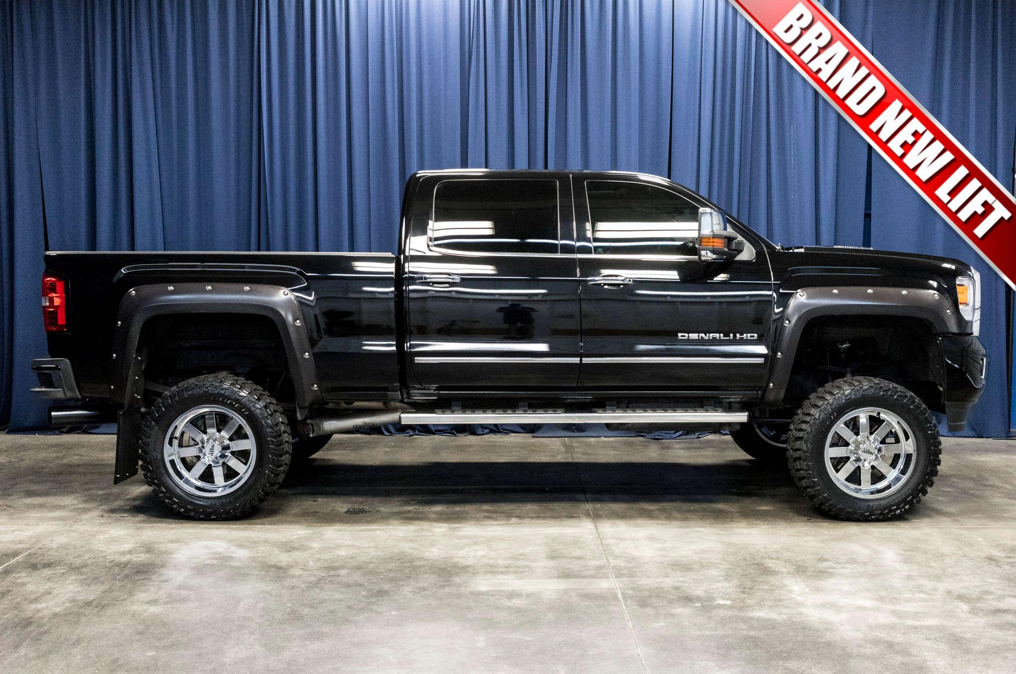 Used Lifted 2016 Gmc Sierra 2500hd Denali 4x4 Diesel Truck For Sale Northwest Motorsport