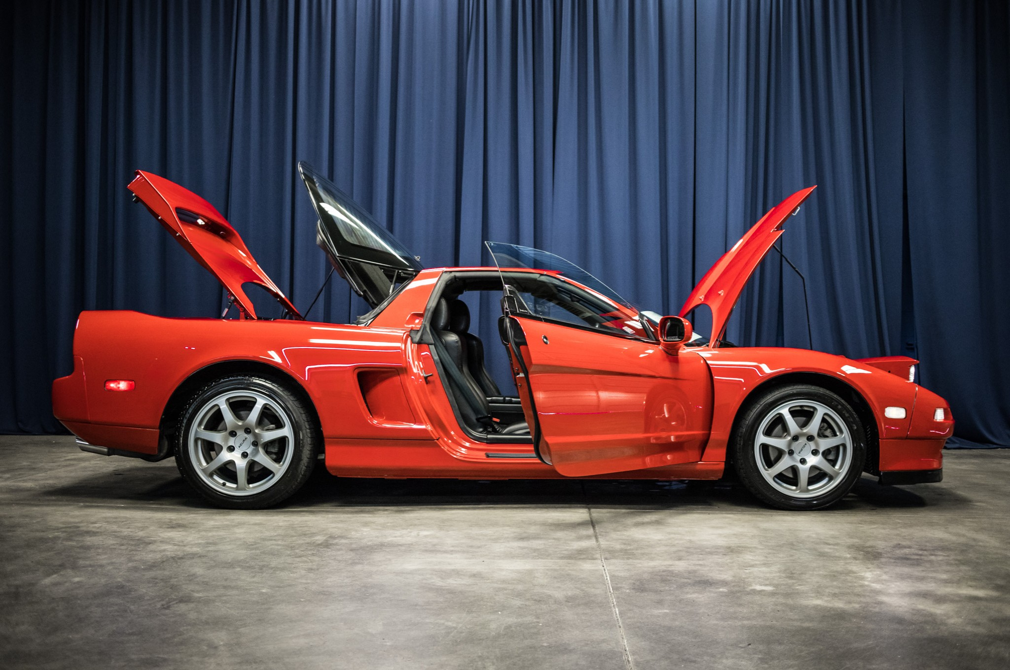 formula red a carscoops gallery yourself photo acura have used barely auction nsx