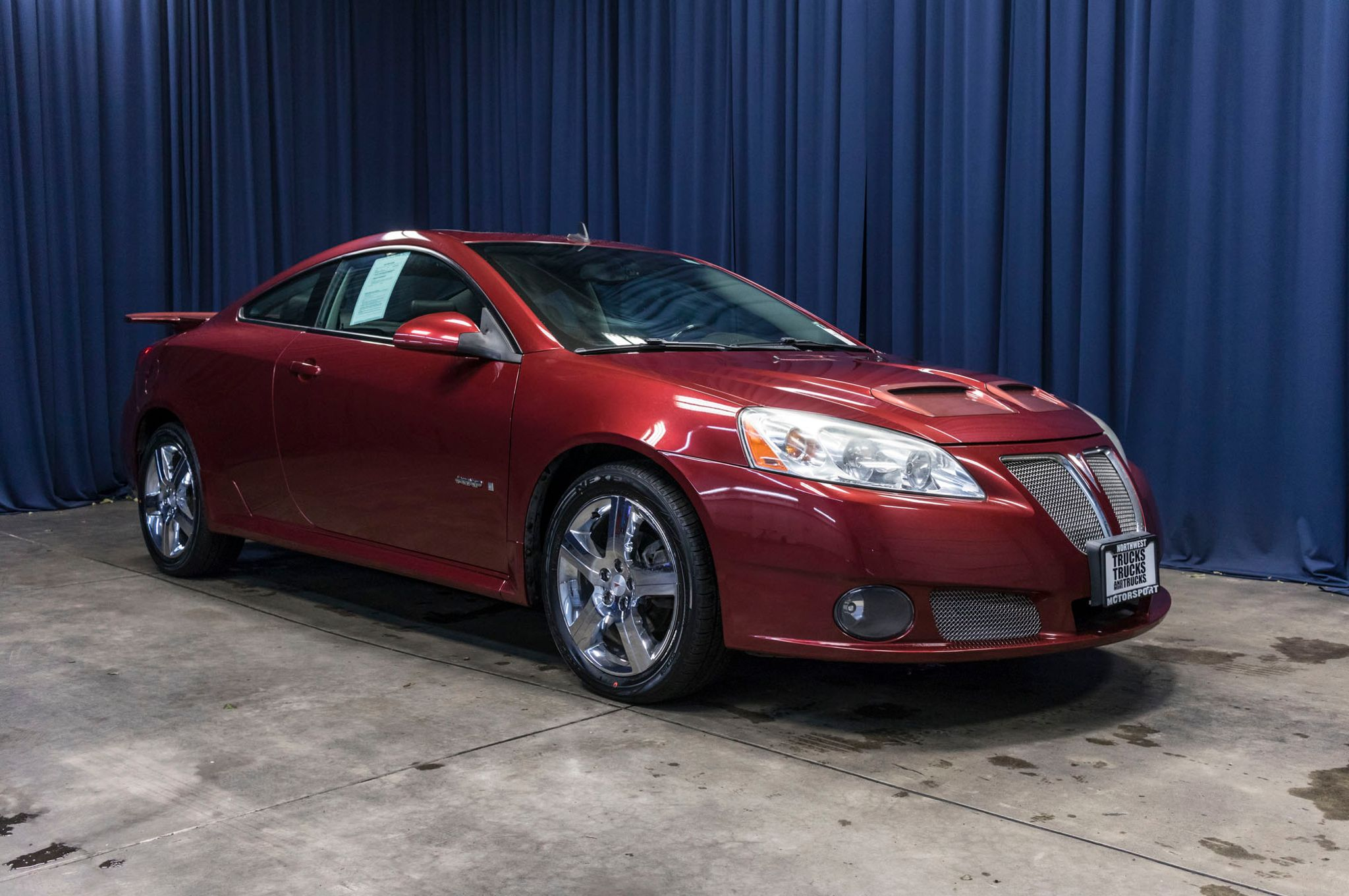 used 2008 pontiac g6 gxp fwd coupe for sale 44440a. Black Bedroom Furniture Sets. Home Design Ideas