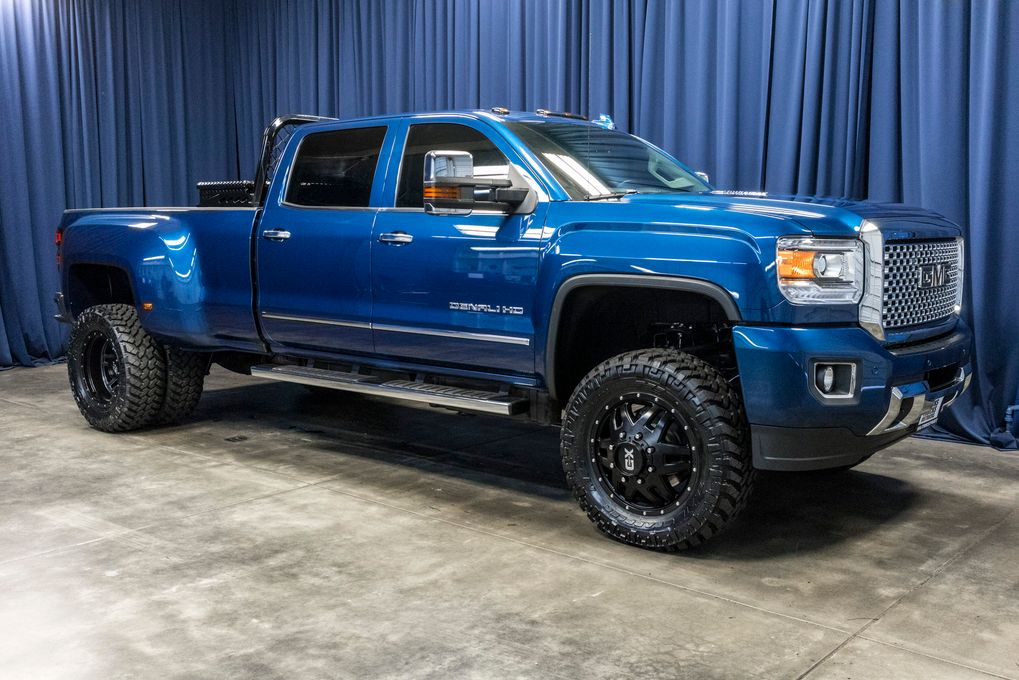 lifted 2016 gmc sierra 3500 hd denali dually 4x4 northwest motorsport. Black Bedroom Furniture Sets. Home Design Ideas