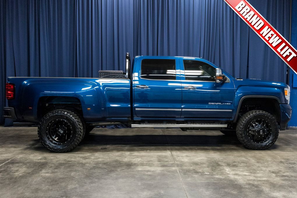used lifted 2016 gmc sierra 3500 hd denali dually 4x4 diesel truck for sale northwest motorsport. Black Bedroom Furniture Sets. Home Design Ideas