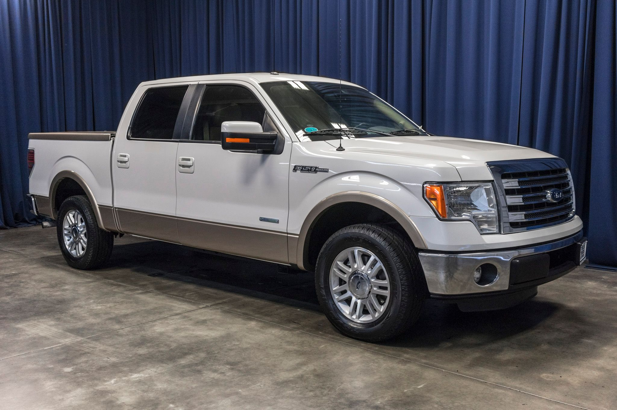 used 2013 ford f 150 lariat ecoboost rwd truck for sale 44578. Black Bedroom Furniture Sets. Home Design Ideas