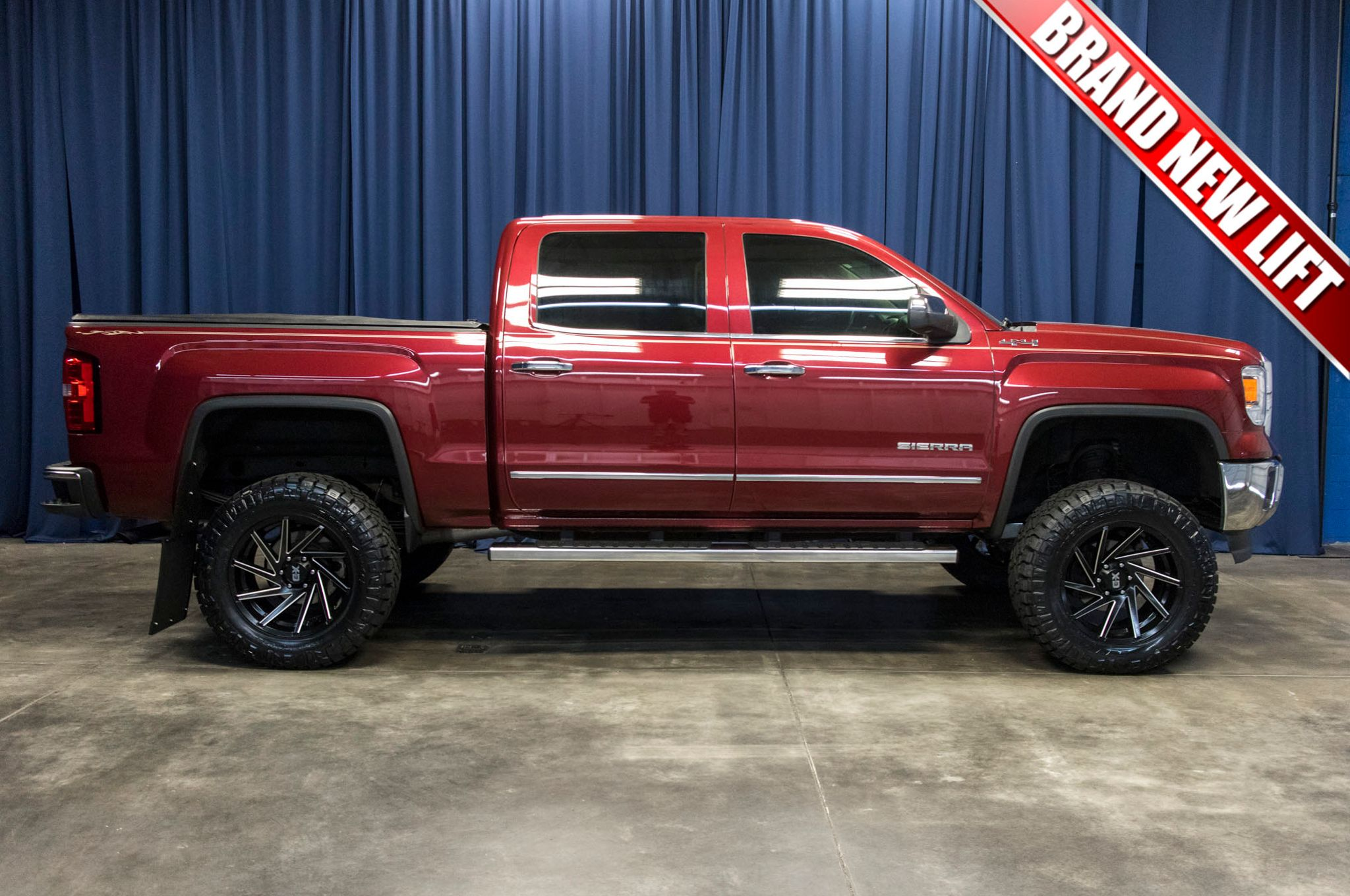 Used Lifted 2014 Gmc Sierra 1500 Slt 4x4 Truck For Sale 44585