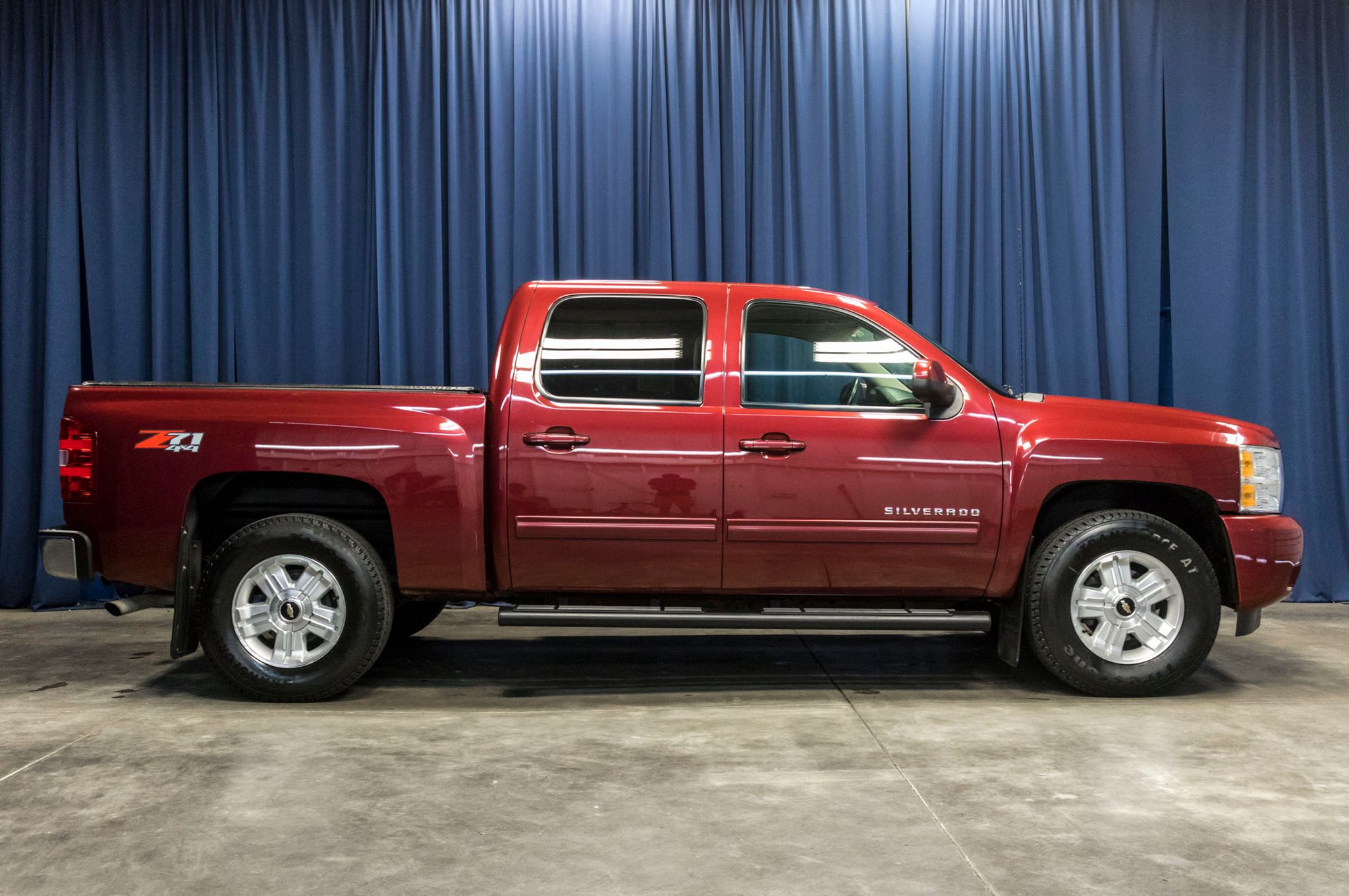 used 2013 chevrolet silverado 1500 ltz z71 4x4 truck for sale 44750. Black Bedroom Furniture Sets. Home Design Ideas