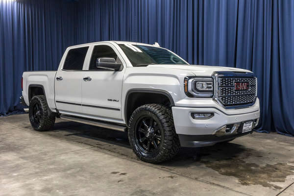 Lifted Gmc Denali For Sale >> Used Lifted 2017 Gmc Sierra 1500 Denali 4x4 Truck For Sale