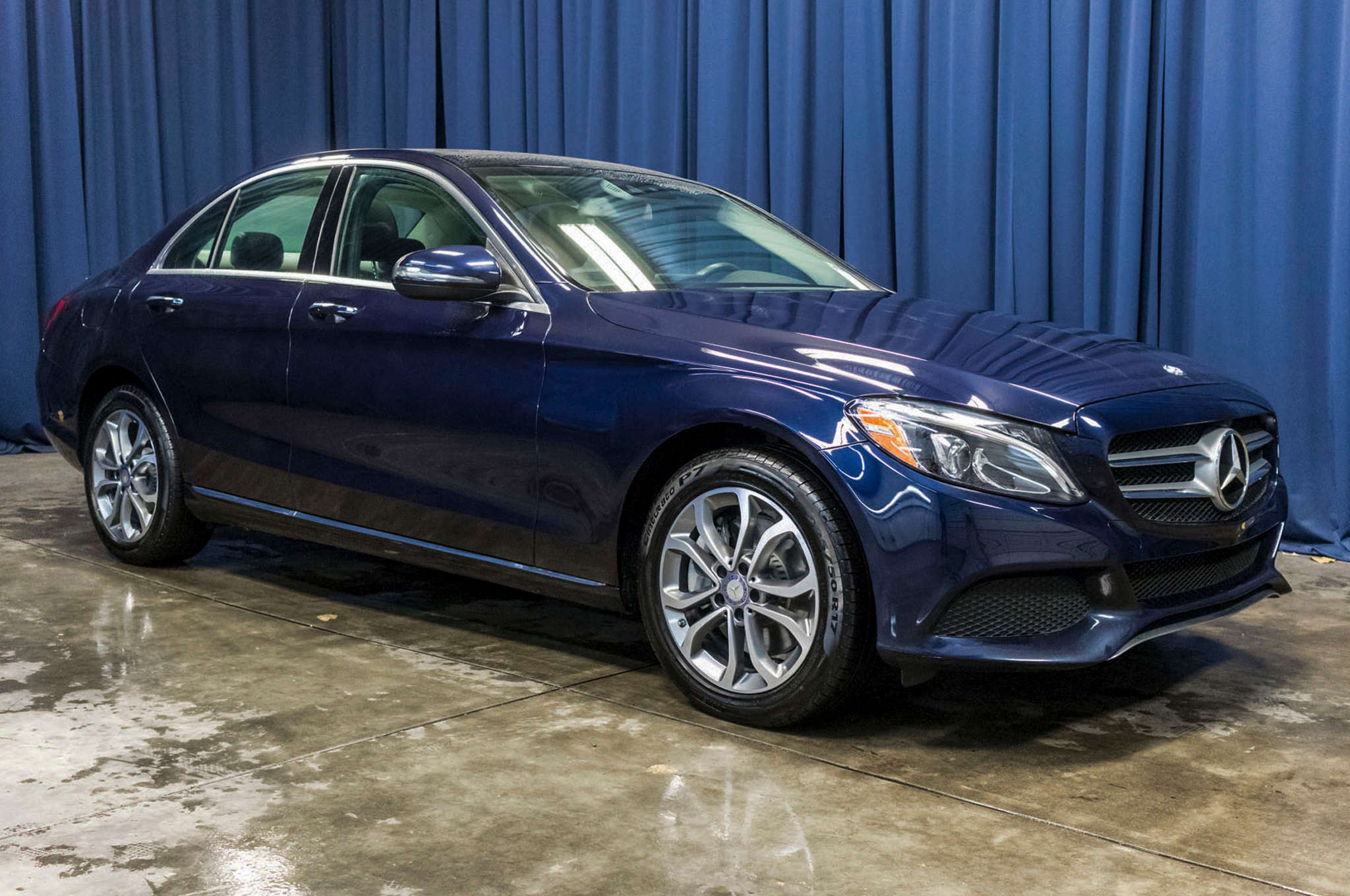 Used 2017 Mercedes Benz C300 4Matic AWD Sedan For Sale