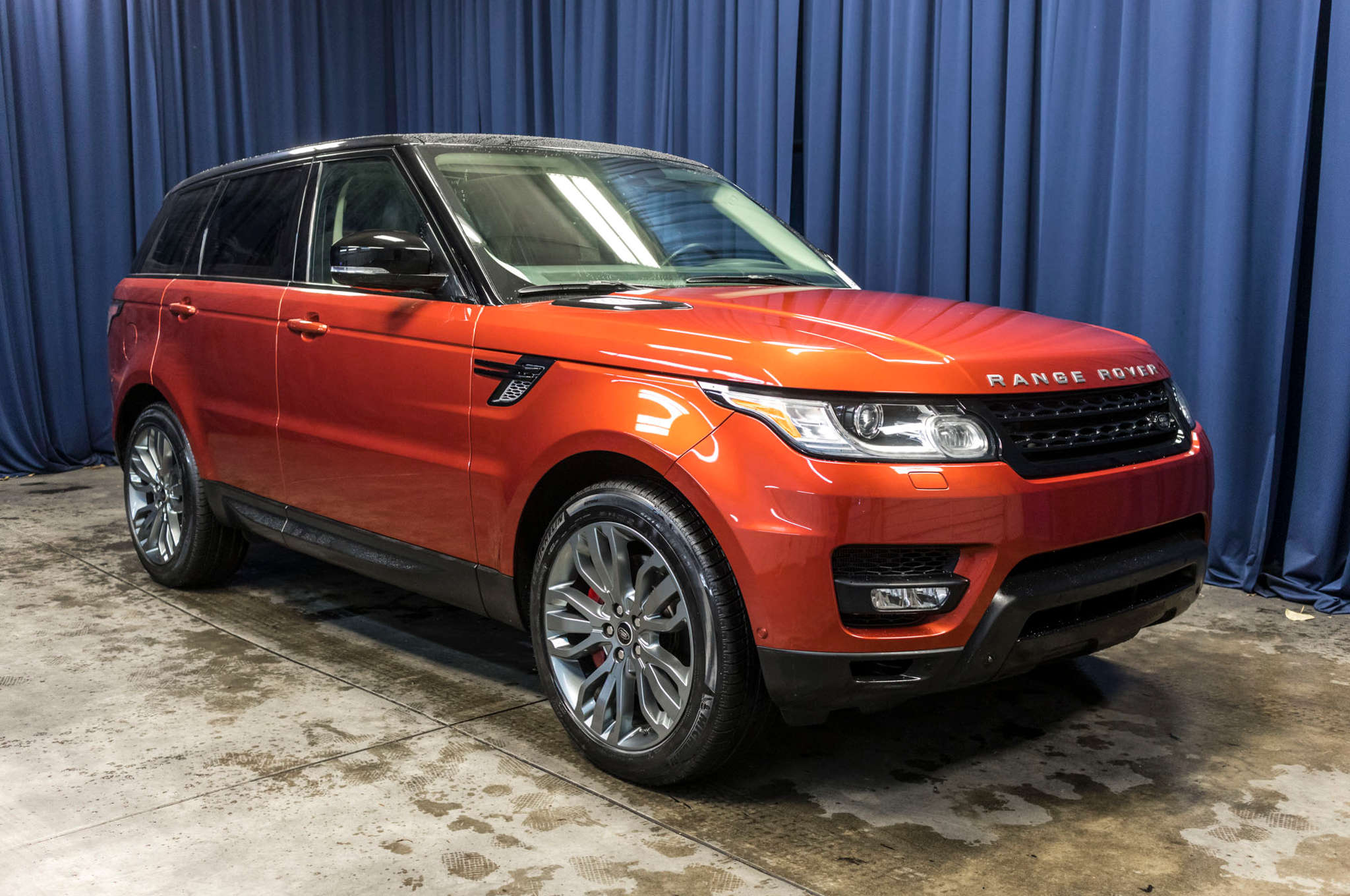 Used 2014 Land Rover Range Rover Sport Supercharged 4x4 SUV For Sale