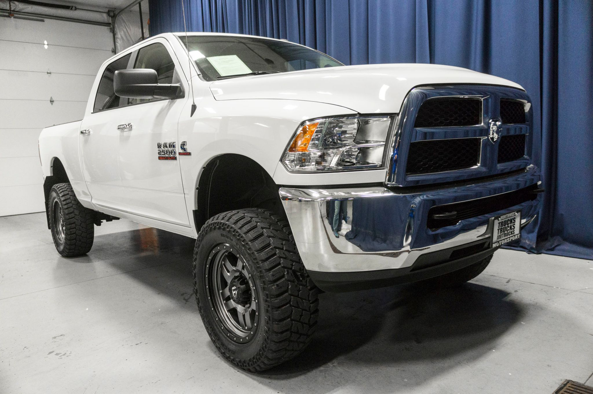 Used Lifted 2017 Dodge Ram 2500 SLT 4x4 Diesel Truck For Sale