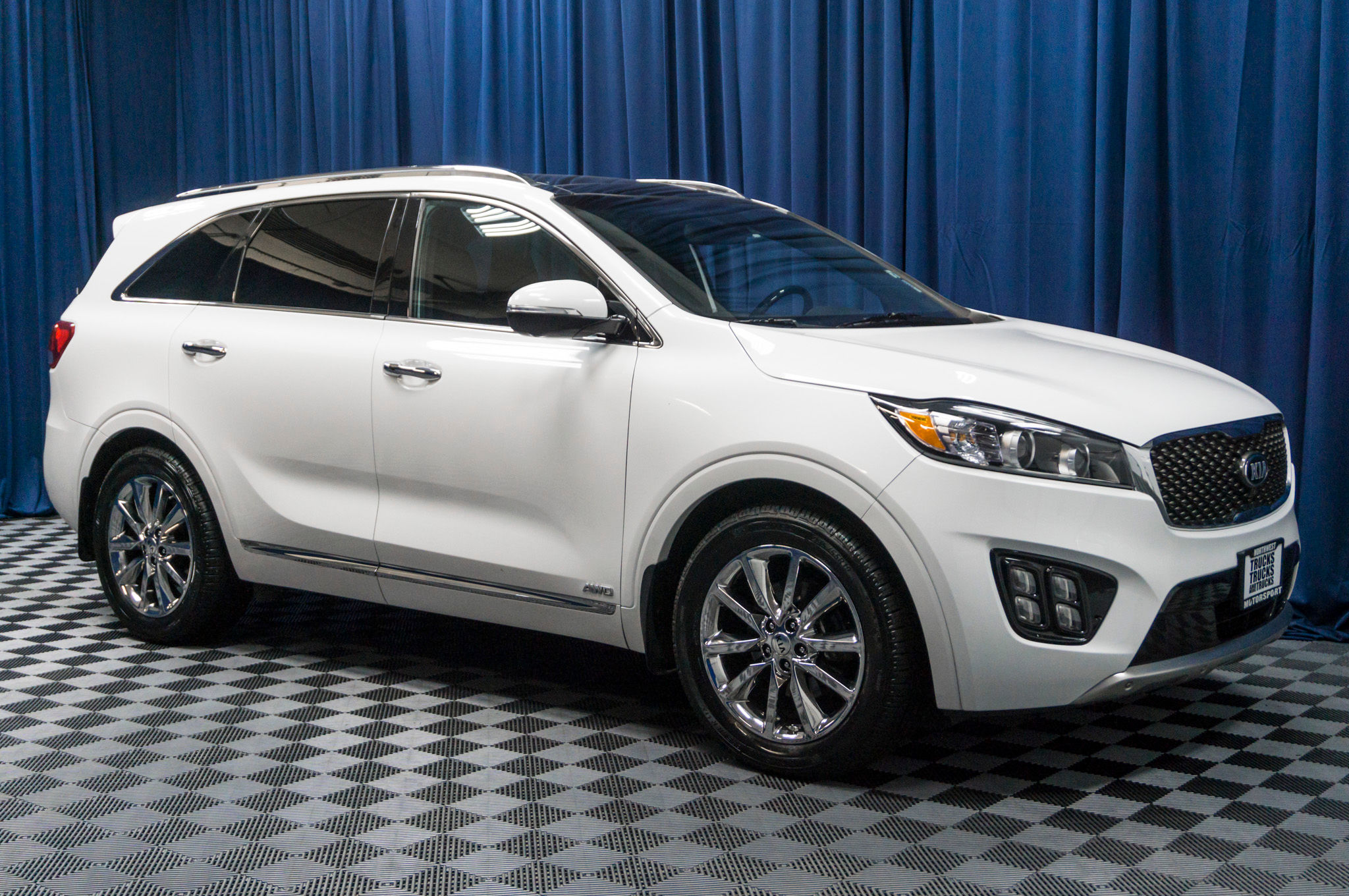price kia review in sorento quarter sxl front motion more show three news