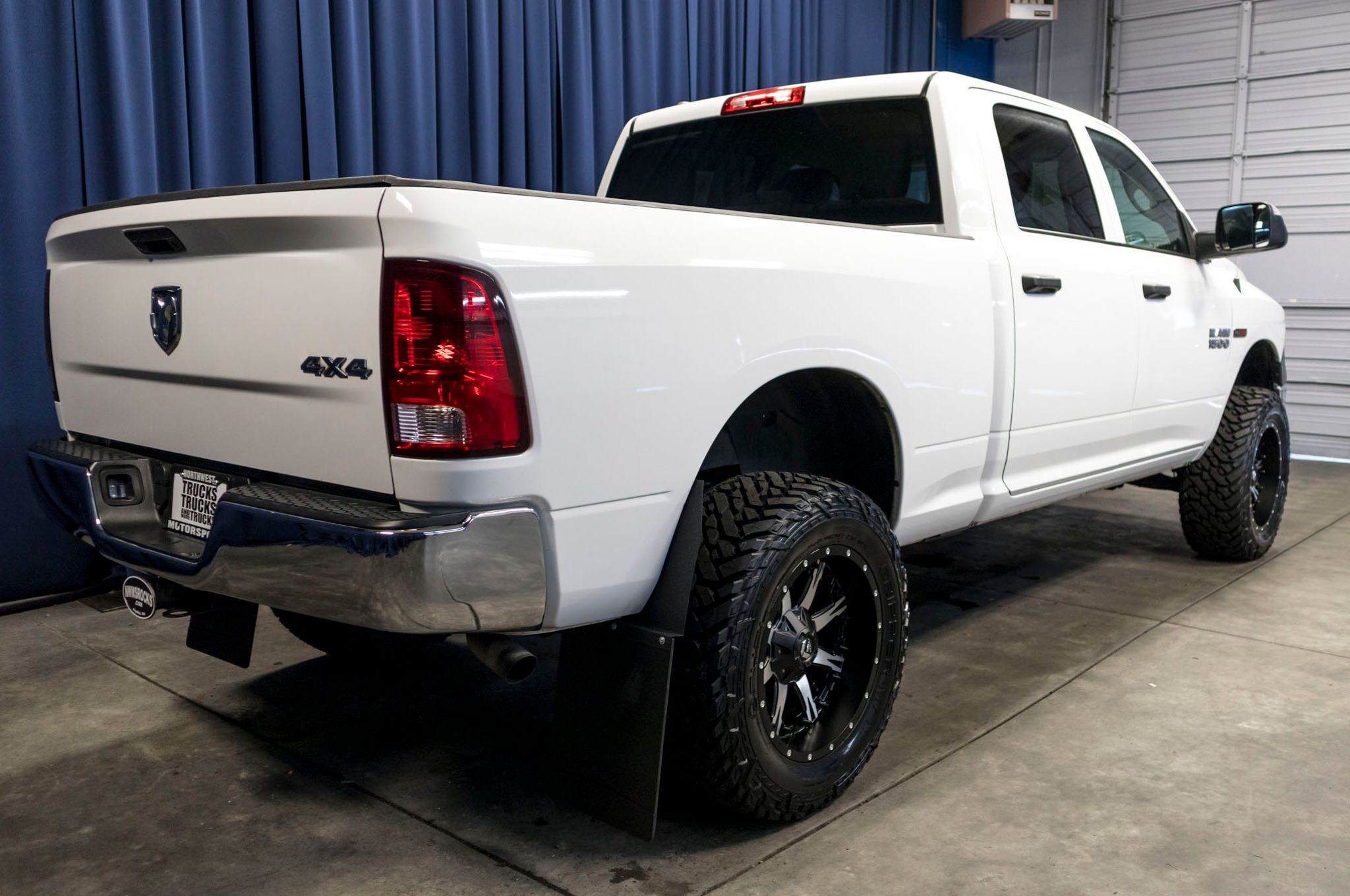 Used Ram 1500 Ecodiesel For Sale >> Used Lifted 2014 Dodge Ram 1500 Tradesman 4x4 Diesel Truck For Sale - 47280
