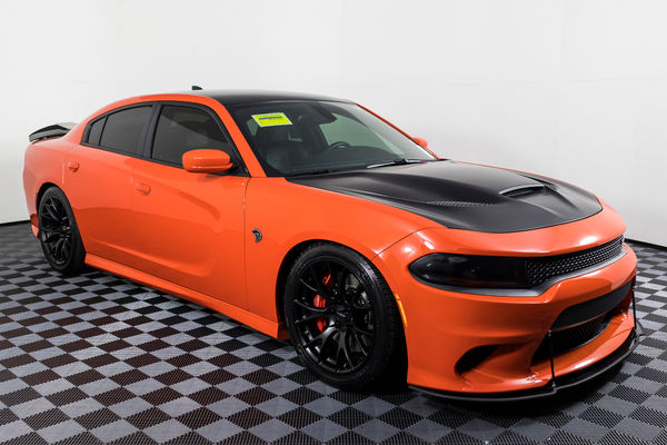 Used Dodge Charger Hellcat For Sale >> Used 2016 Dodge Charger Srt Hellcat Rwd Sedan For Sale