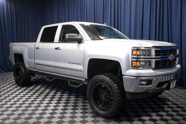 2014 Chevy Silverado Lifted >> Used Lifted 2014 Chevrolet Silverado 1500 Ltz Z71 4x4 Truck