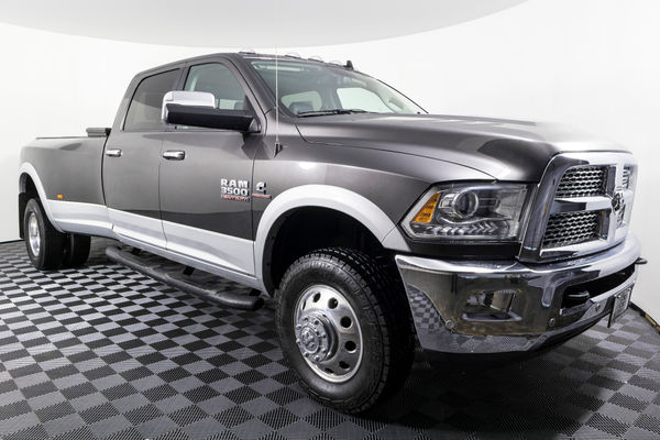 2017 Dodge Dually >> Used 2017 Dodge Ram 3500 Laramie Dually 4x4 Diesel Truck For Sale