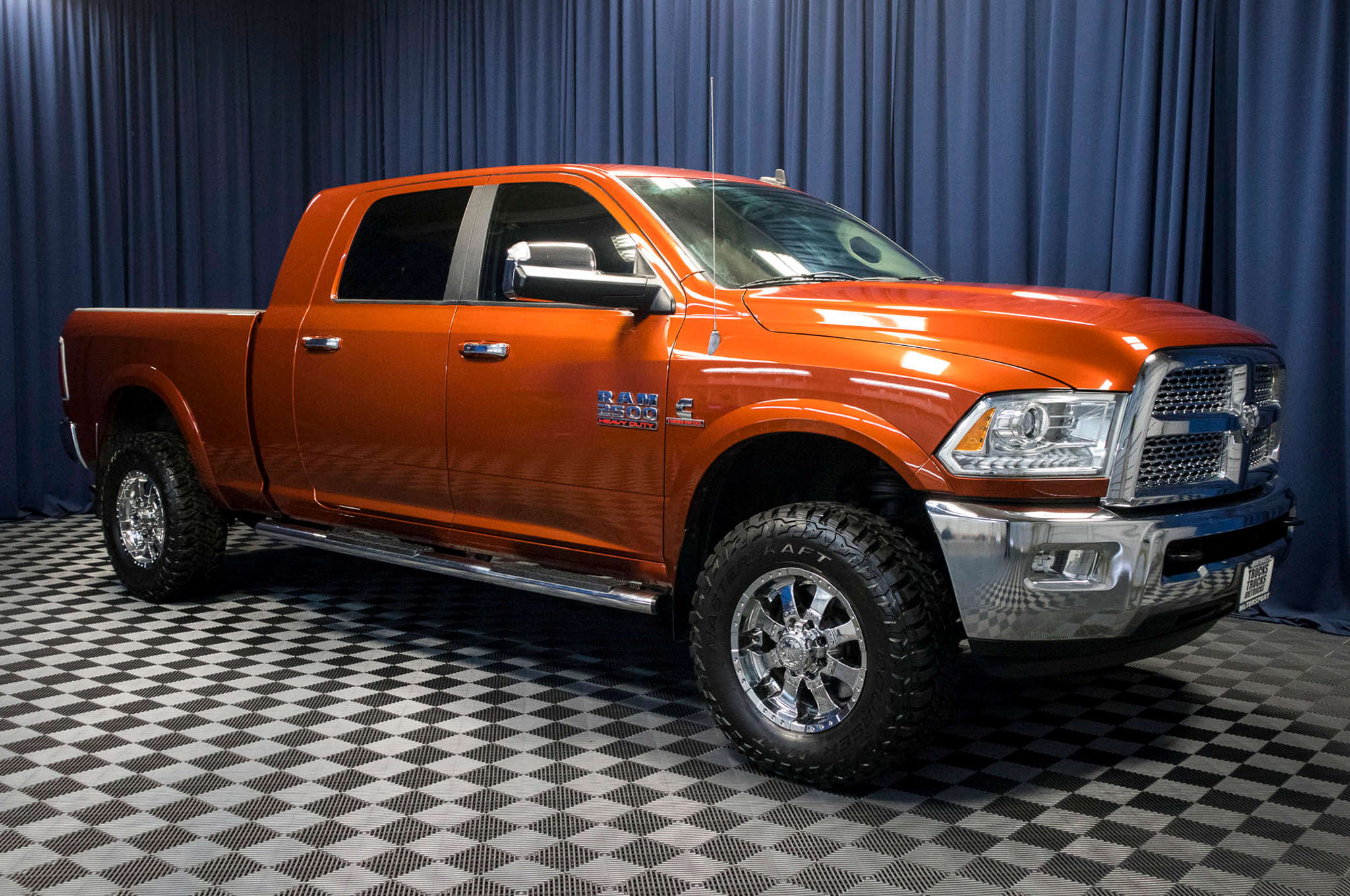 Used Lifted 2013 Dodge Ram 2500 Laramie 4x4 Diesel Truck For Sale ...