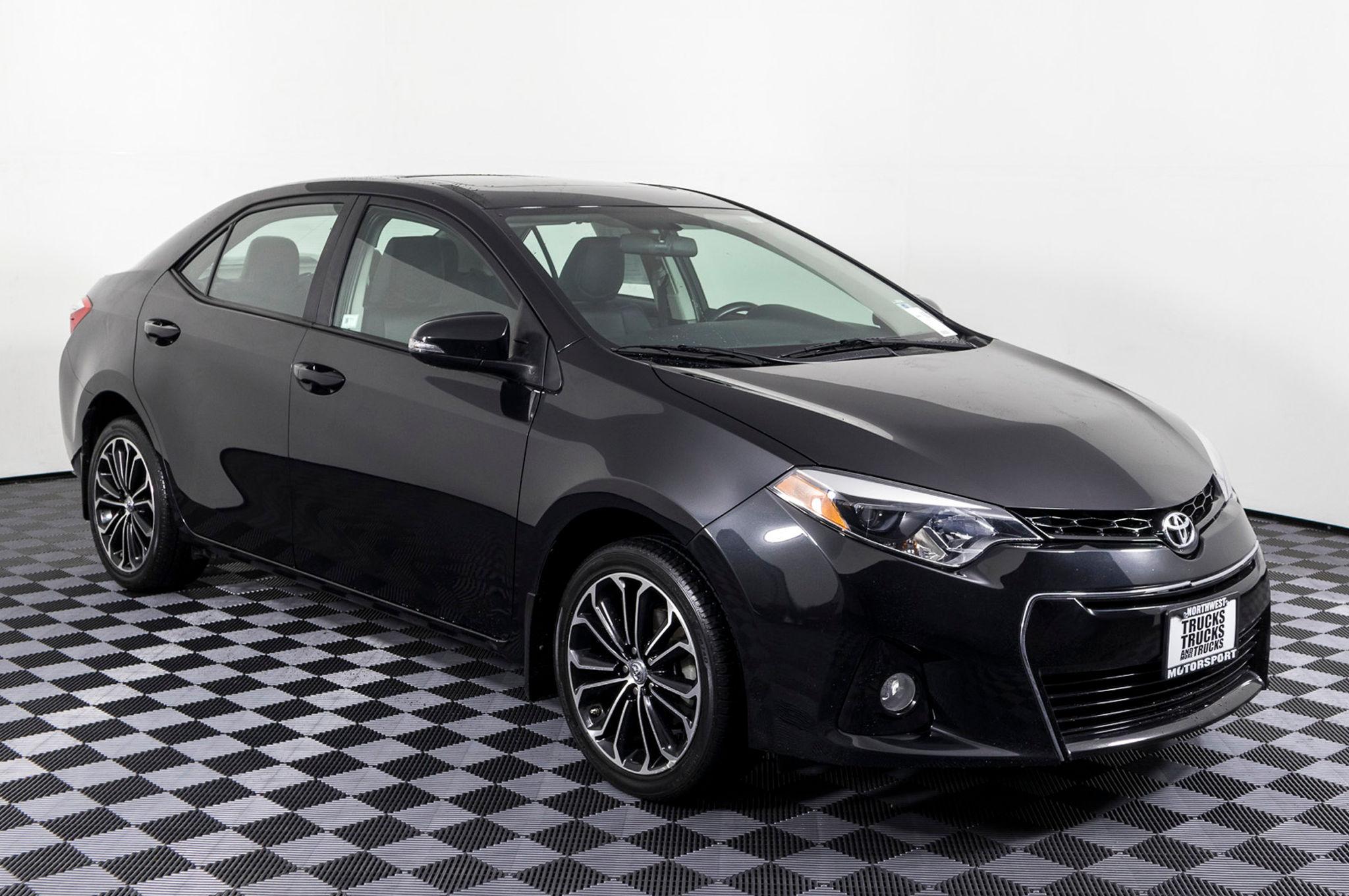 Used 2014 Toyota Corolla S Plus FWD Sedan For Sale