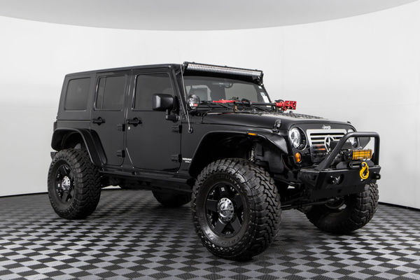 Used Lifted 2010 Jeep Wrangler Unlimited Rubicon 4x4 Suv For Sale Northwest Motorsport