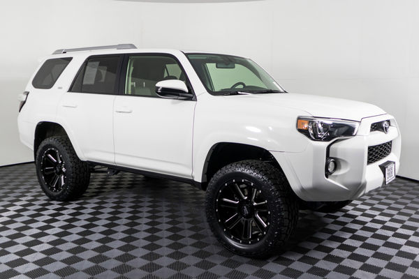 Lifted 4runner For Sale >> Used Lifted 2017 Toyota 4runner Sr5 4x4 Suv For Sale Northwest