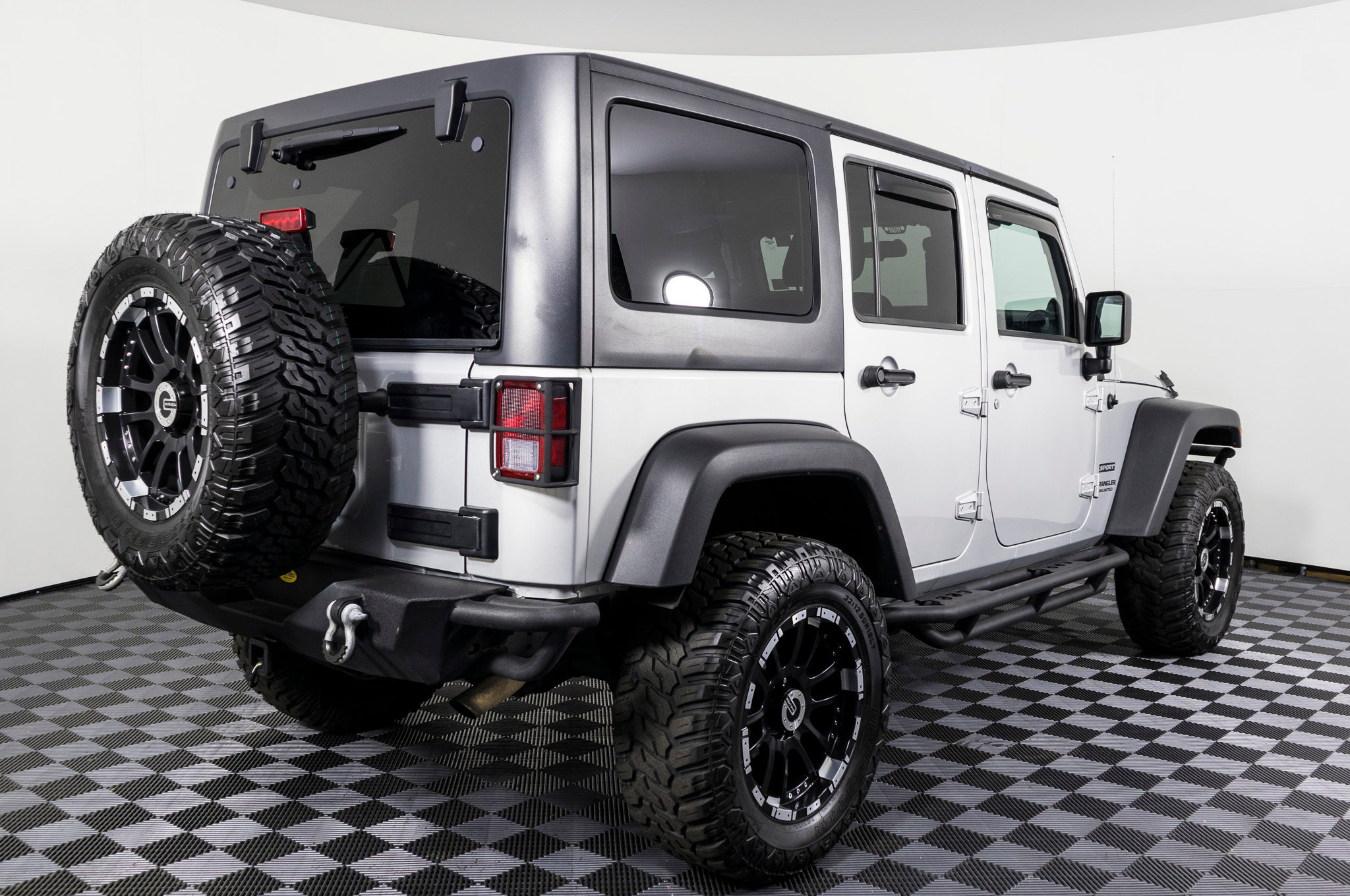 Used Lifted 2012 Jeep Wrangler Unlimited Sport 4x4 SUV For Sale