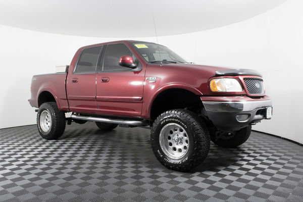 Used Lifted 2003 Ford F-150 XLT 4x4 Truck For Sale