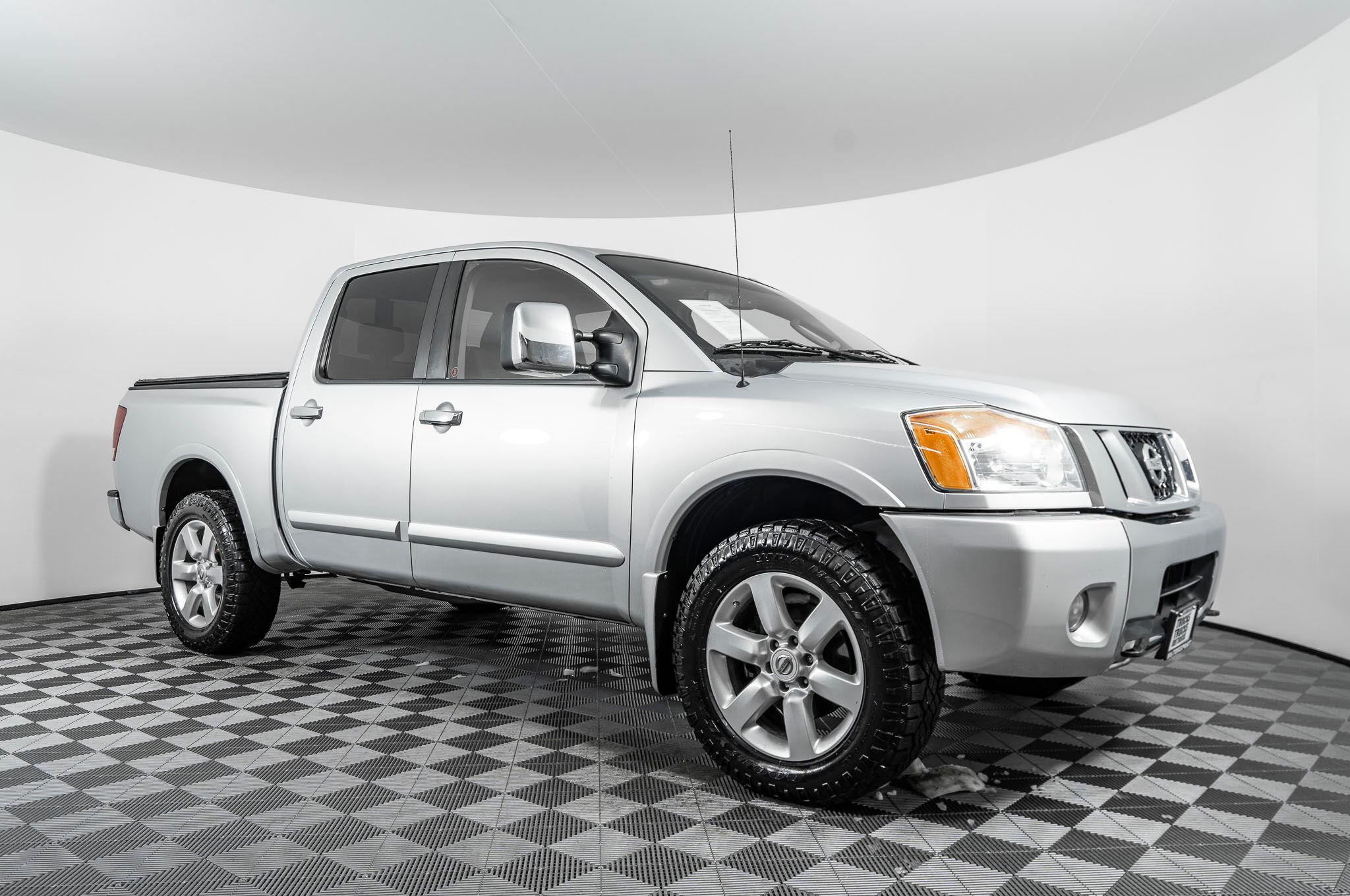 used 2010 nissan titan le 4x4 truck for sale northwest motorsport northwest motorsport