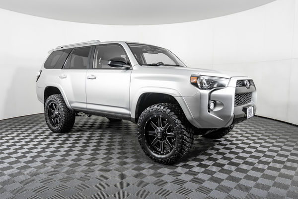 Lifted 4runner For Sale >> Used Lifted 2018 Toyota 4runner Sr5 4x4 Suv For Sale Northwest