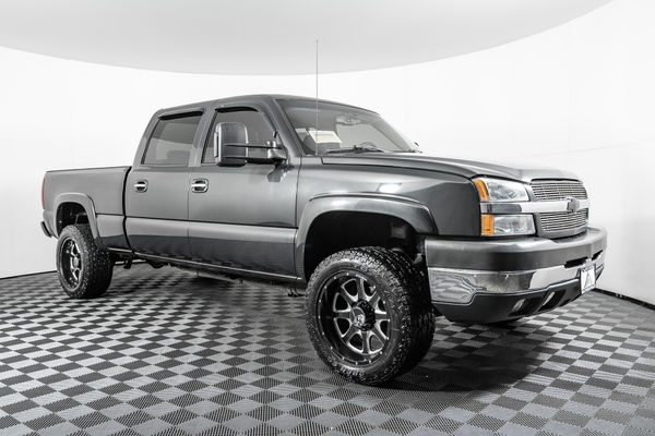 Used Lifted 2003 Chevrolet Silverado 2500hd Ls 4x4 Truck For