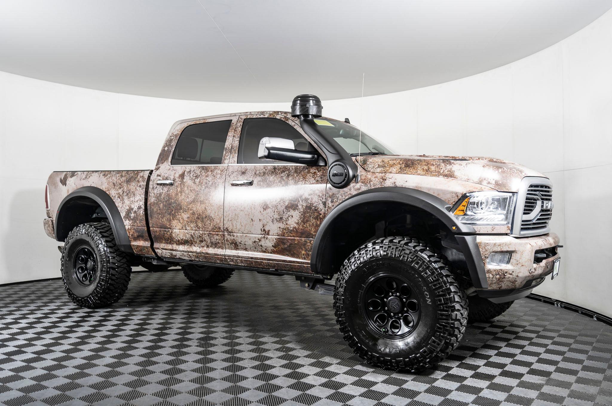 Used Lifted 2018 Dodge Ram 2500 Longhorn 4x4 Diesel Truck For Sale Northwest Motorsport