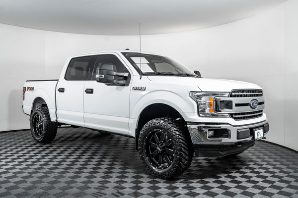 Used Lifted 2018 Ford F 150 Xlt Fx4 4x4 Truck For Sale