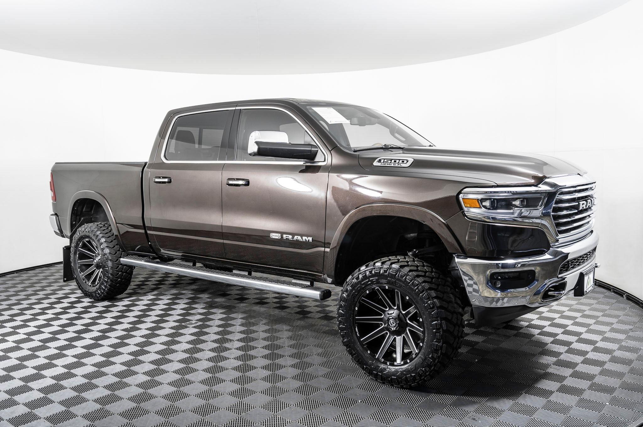 Used Lifted 2019 Dodge Ram 1500 Longhorn 4x4 Truck For Sale Northwest Motorsport