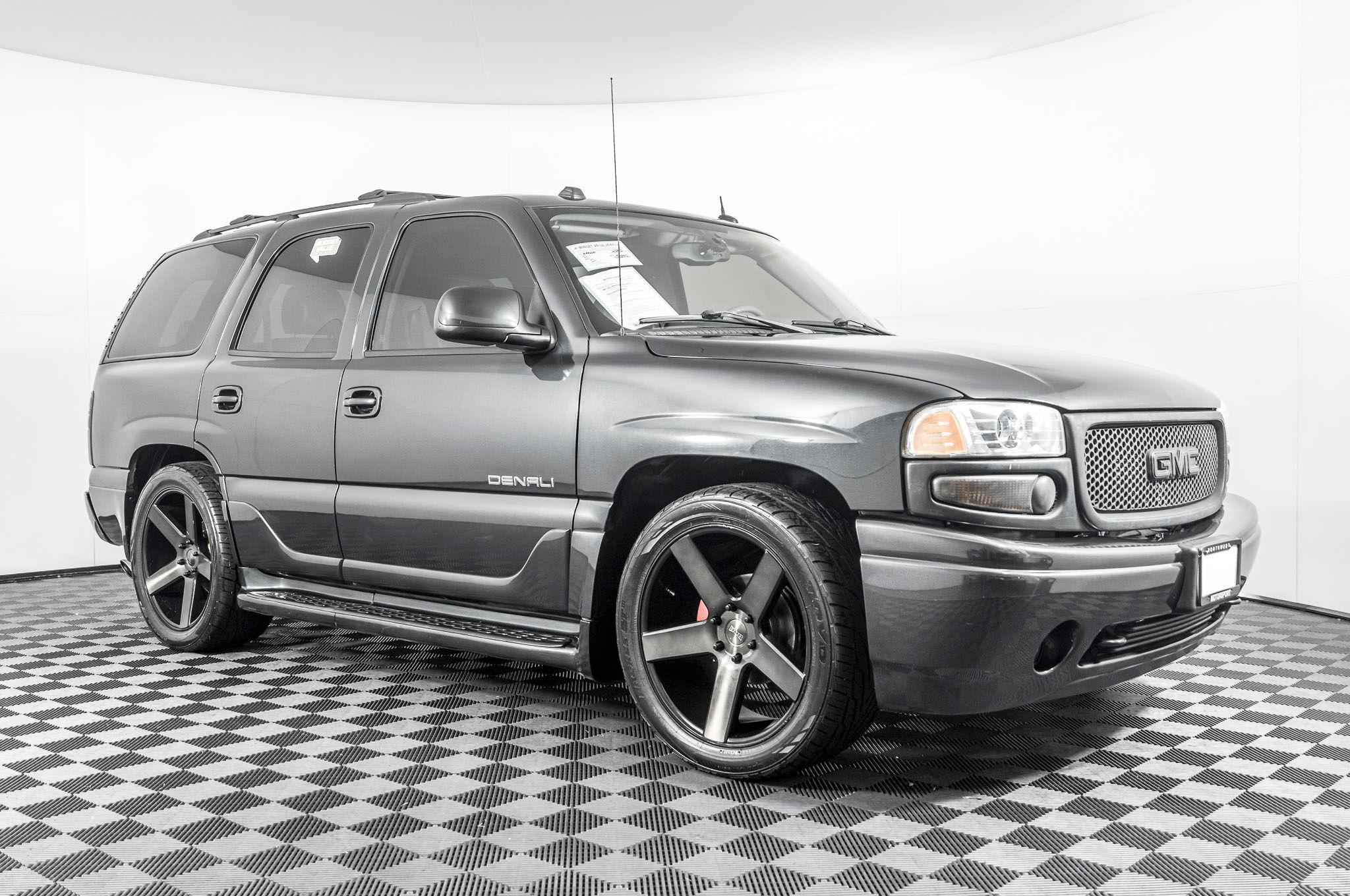 Used 2004 Gmc Yukon Denali Awd Suv For Sale Northwest Motorsport
