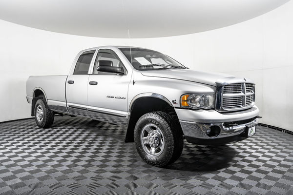 Diesel Truck For Sale >> Used 2003 Dodge Ram 2500 Slt 4x4 Diesel Truck For Sale
