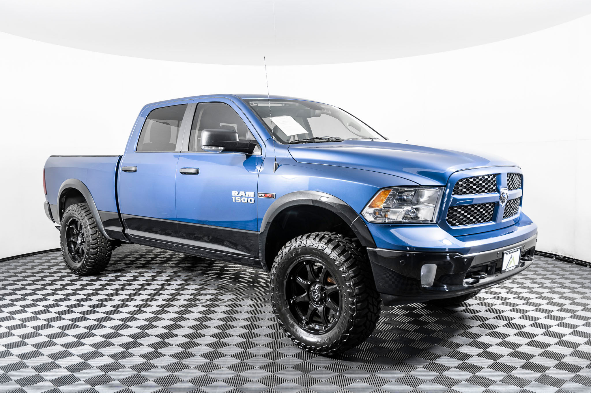 Dodge 2016 Truck >> Used Lifted 2016 Dodge Ram 1500 Outdoorsman 4x4 Diesel Truck For Sale