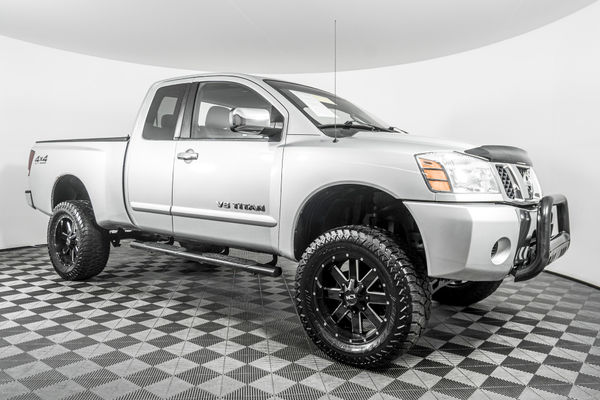 used lifted 2005 nissan titan se 4x4 truck for sale northwest motorsport lifted 2005 nissan titan se 4x4 truck