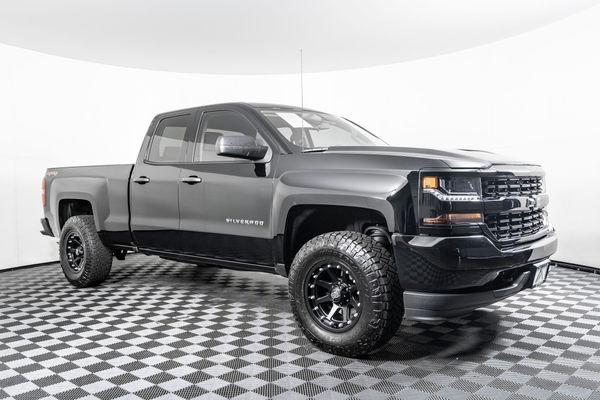 Used Lifted 2016 Chevrolet Silverado 1500 Custom 4x4 Truck For Sale Northwest Motorsport