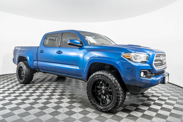 2016 Toyota Tacoma Lifted >> Used Lifted 2016 Toyota Tacoma Trd Sport 4x4 Truck For Sale