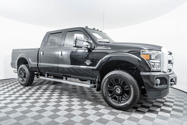 Diesel Truck For Sale >> Used 2016 Ford F 350 Platinum 4x4 Diesel Truck For Sale