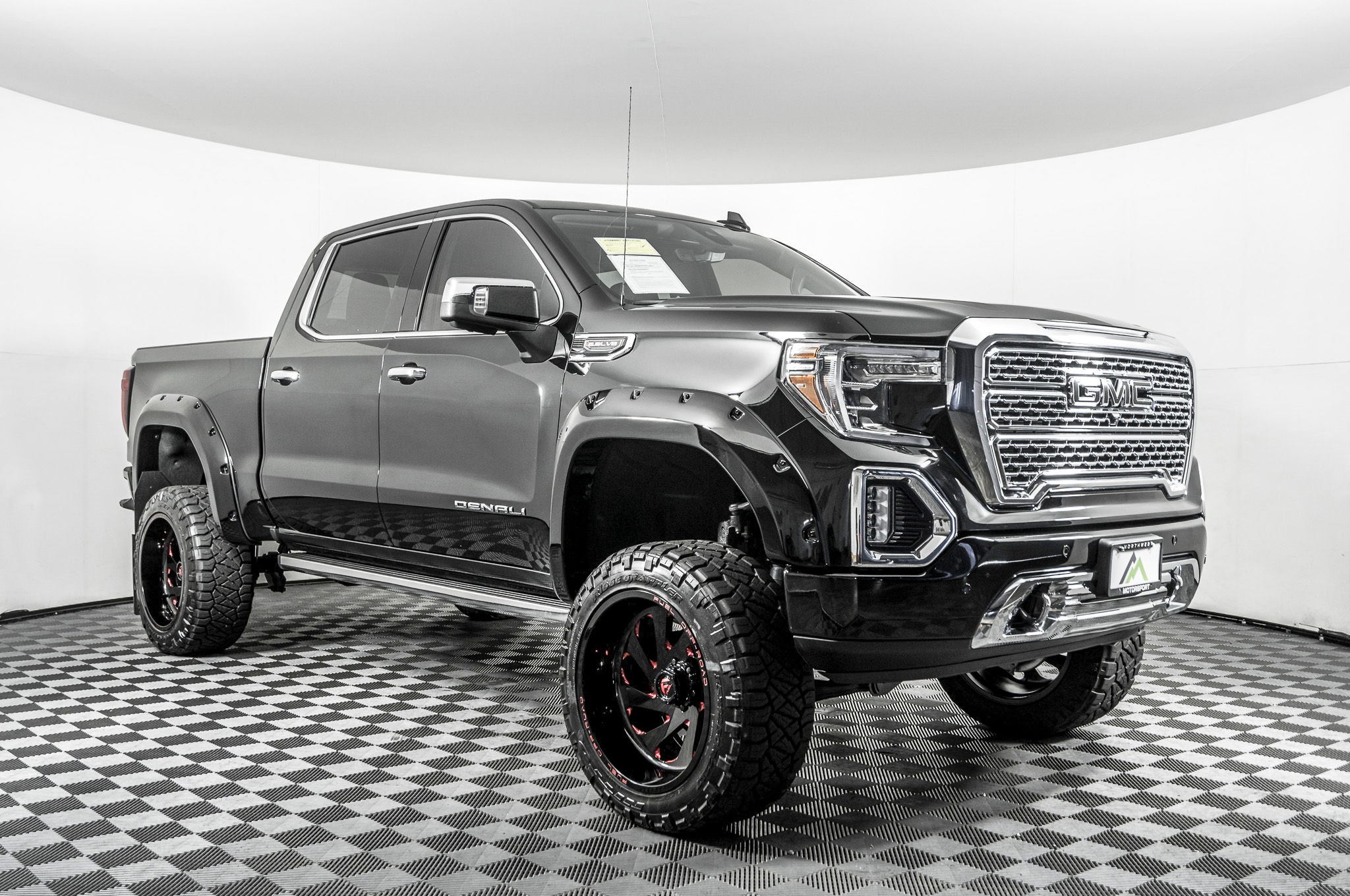 Used Lifted 2019 Gmc Sierra 1500 Denali 4x4 Truck For Sale Northwest Motorsport