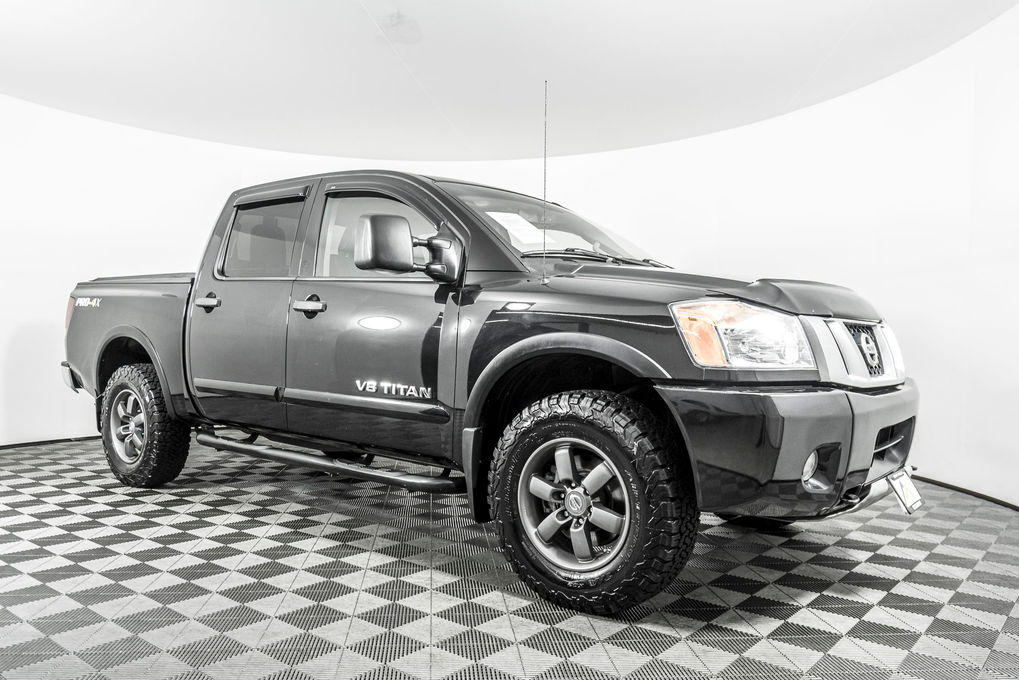 used 2014 nissan titan pro 4x 4x4 truck for sale northwest motorsport northwest motorsport