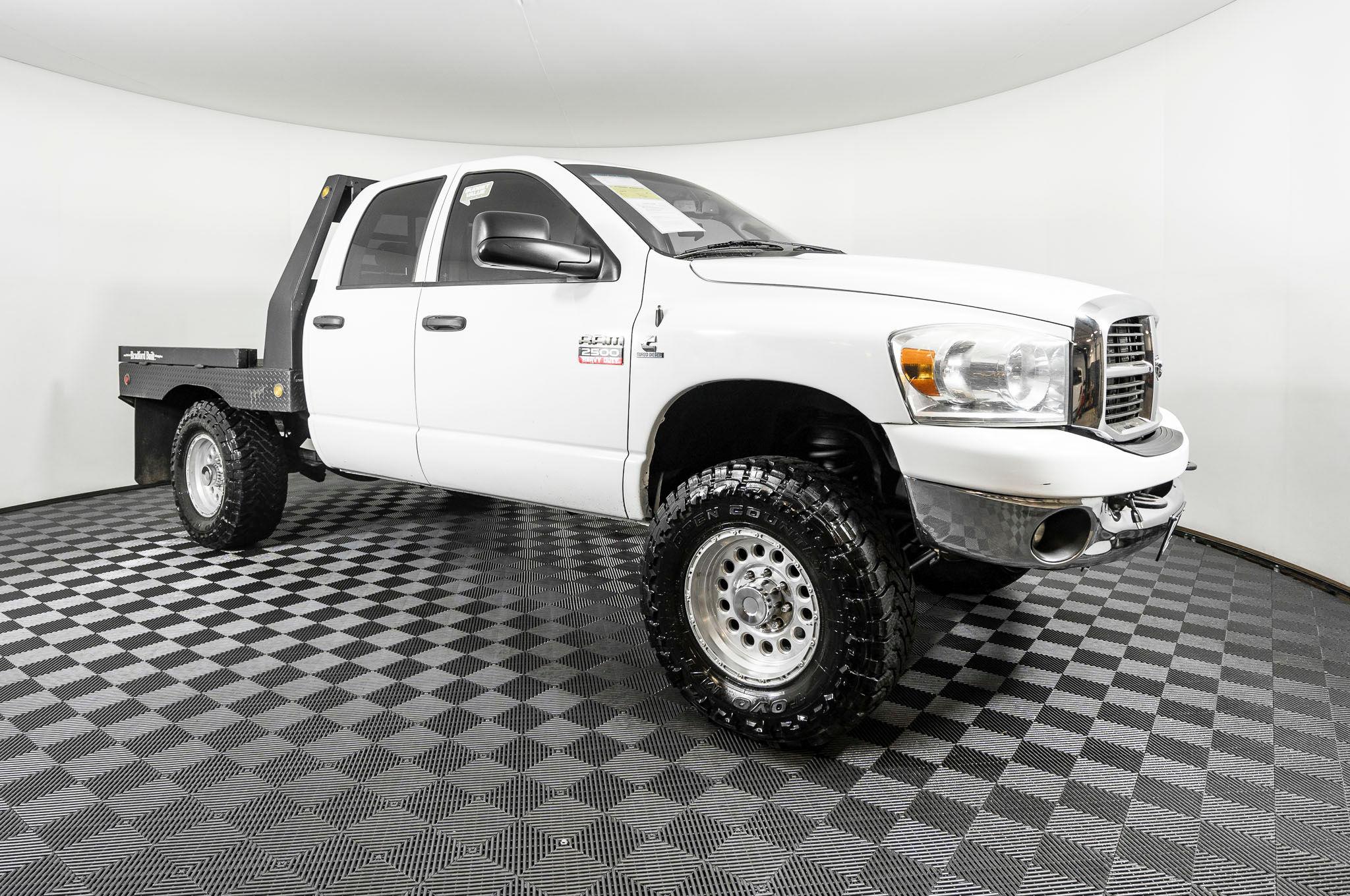 Used 2007 Dodge Ram 2500 Slt Flatbed 4x4 Diesel Truck For Sale Northwest Motorsport