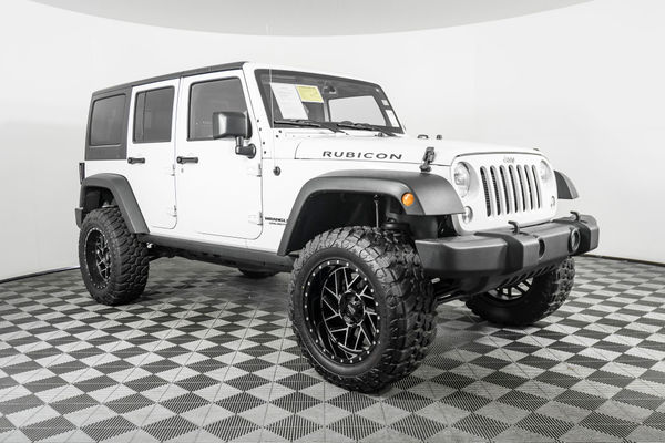 Used Lifted 2015 Jeep Wrangler Unlimited Rubicon 4x4 Suv For Sale Northwest Motorsport