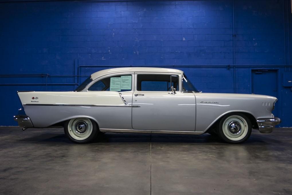 Used 1957 Chevrolet 150 2 Door Post Sedan For Sale - 80021