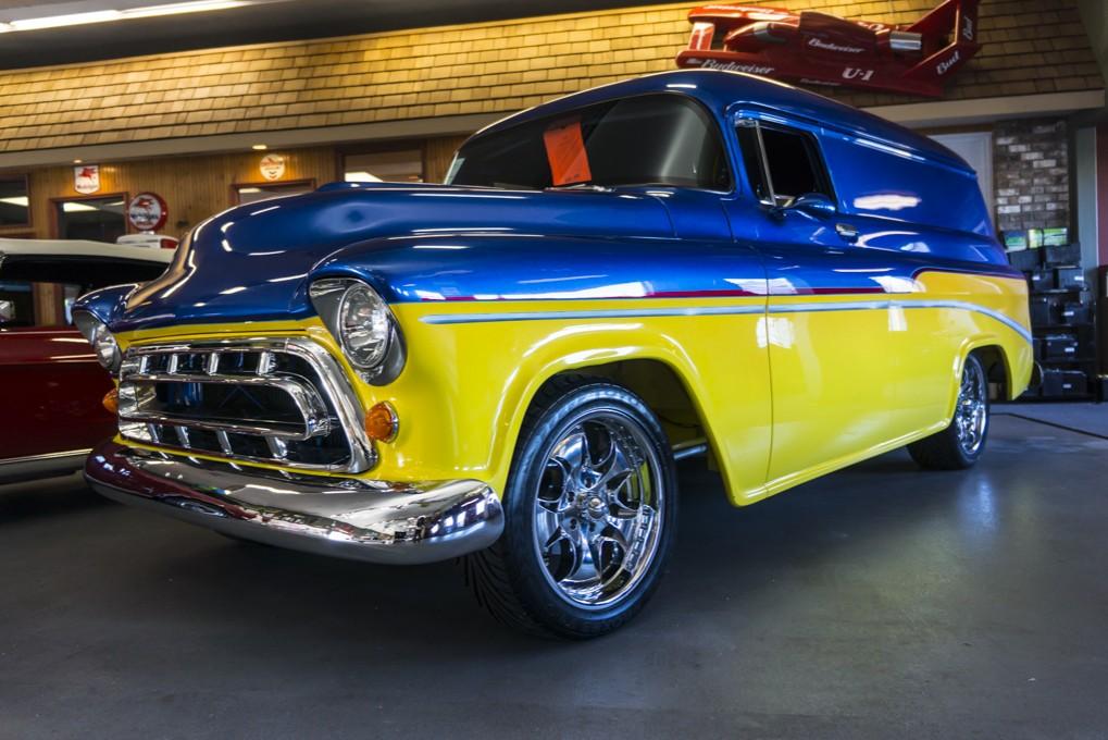 Used 1955 Chevrolet Custom Panel Truck Truck For Sale - Northwest ...